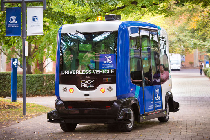 Driverless Bus From EasyMile