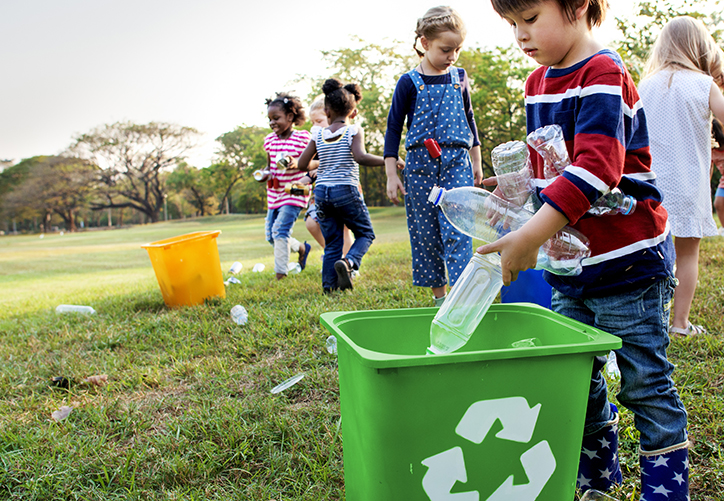 Get kids recycling early